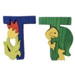 alphabet puzzle T